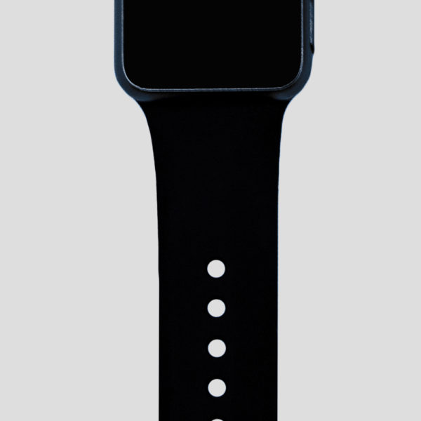 Svart sportarmband för Apple Watch