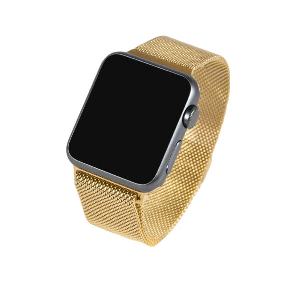 Guld Milanesisk-loop för Apple Watch