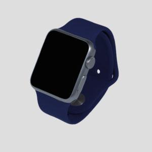 Marinblått sportarmband för Apple Watch