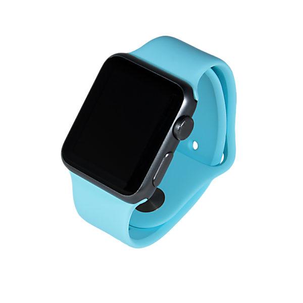 Turkost sportarmband för Apple Watch